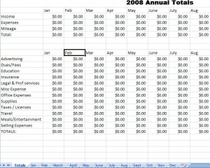 Expense Report Template For Excel  Free Expense Reports
