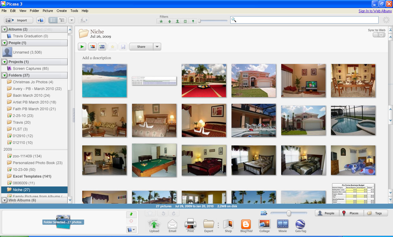 how to delete photos from my picasa web album