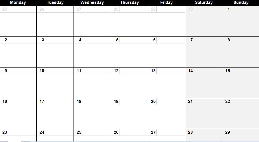 May  Calendar  May  Calendar Printable