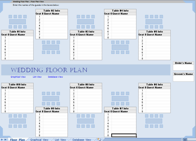 wedding planning checklist excel in life templates party