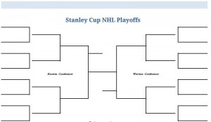 2011 Printable NHL Stanley Cup Playoffs Bracket