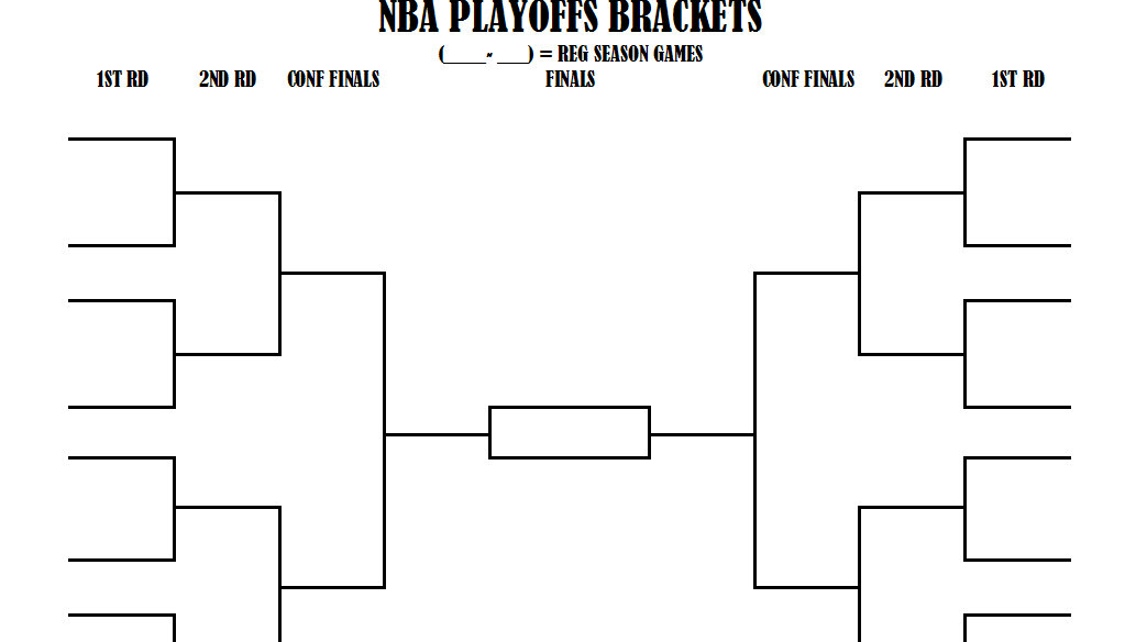 Nba Playoff Bracket Nba Playoff Brackets