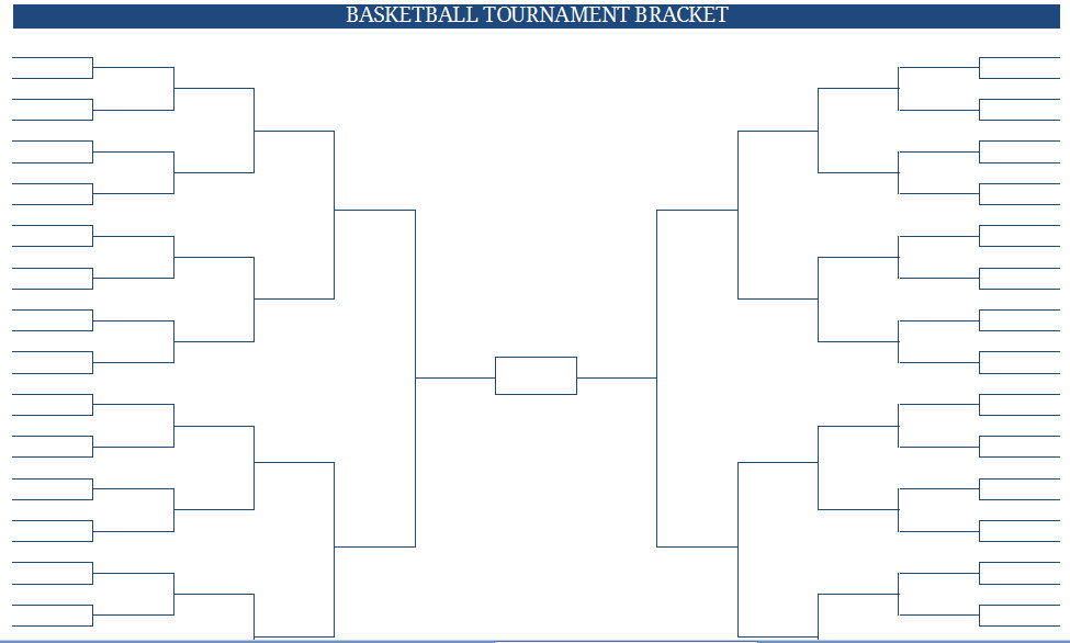 Insane image within ncaa bracket printable blank