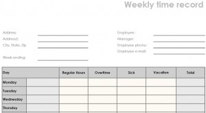 printable blank weekly pdf time sheet form