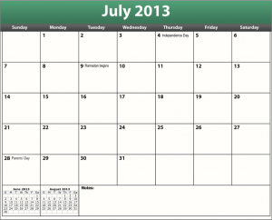 download the printable pdf july 2013 calendar