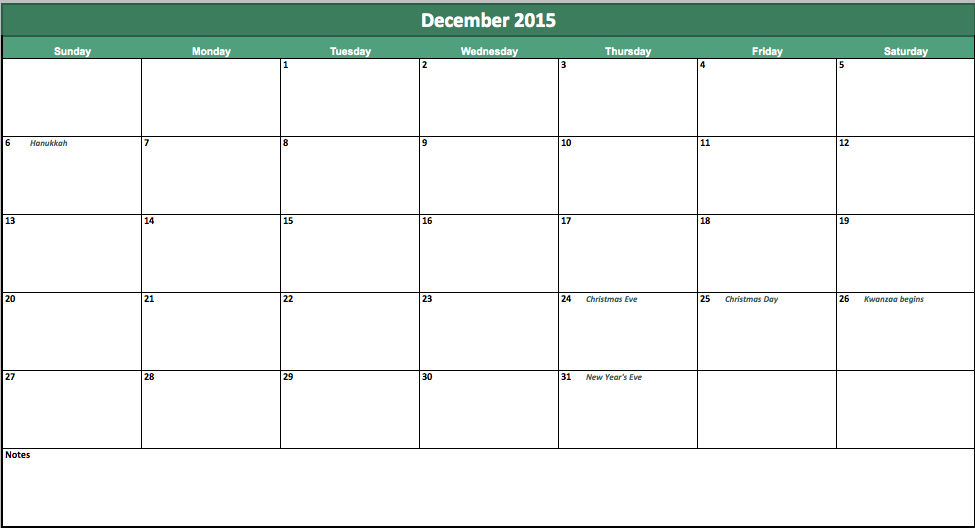 Top Result 60 Fresh 2015 Calendar Template With Holidays Photography