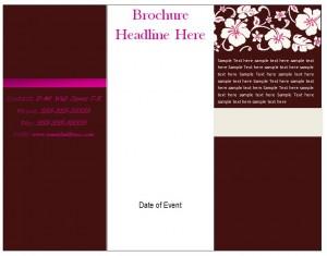 brochure template word 2013 - free brochure template tri fold brochure template free