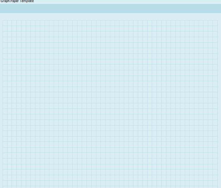 Graph Paper Template Word  Graph Paper Template For Word