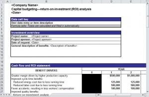 roi analysis roi analysis template roi analysis spreadsheet