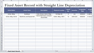 FREE Straight Line Depreciation Calculator Excel