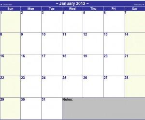Microsoft Word Calendar Template from MyExcelTemplates.com,.