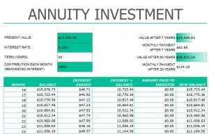 annuity investment calculator investment annuity calculator