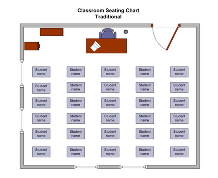 Classroom Seating Chart  BesikEightyCo