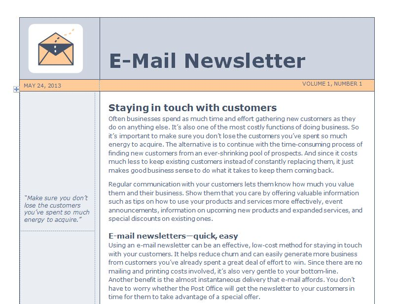 Email newsletter templates slim image for How to create an email newsletter template