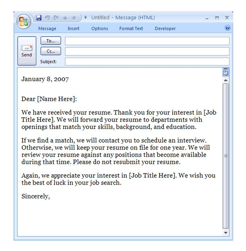 email template to request a meeting - interview confirmation email template