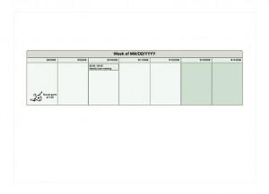 One Week Planner