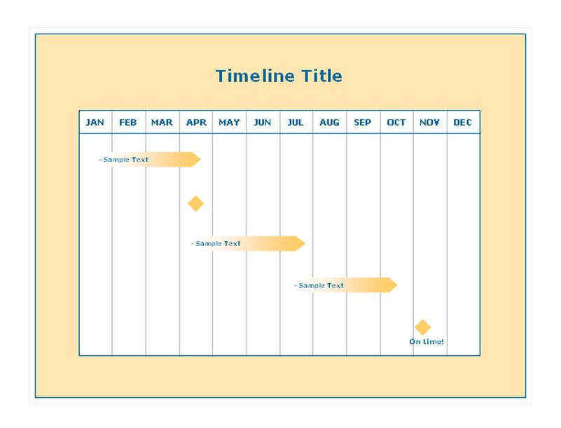 Project Timeline Template Project Timeline Template Excel - Free project timeline template