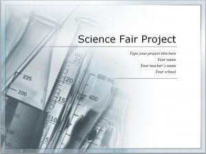 The Science Fair Template