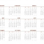 Free 2017 Printable Calendar One Page Sheet