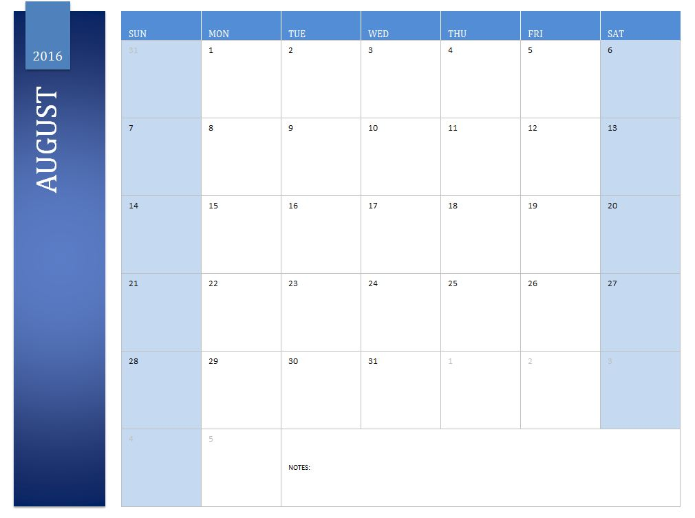 august 2016 calendar 2016 august calendar. Black Bedroom Furniture Sets. Home Design Ideas