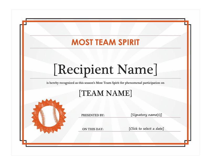 Baseball award certificate template free images for Baseball certificate ideas