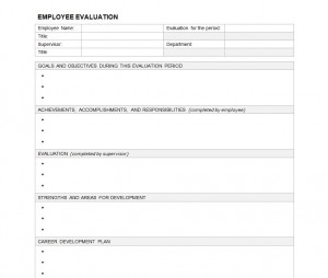image regarding Free Employee Evaluation Forms Printable identify Personnel Analysis Kind Personnel Overall performance Assessment