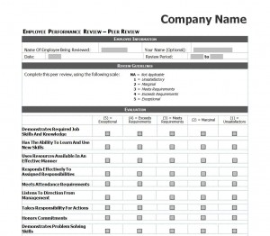 Employee Performance Review | Employee Performance Review Checklist