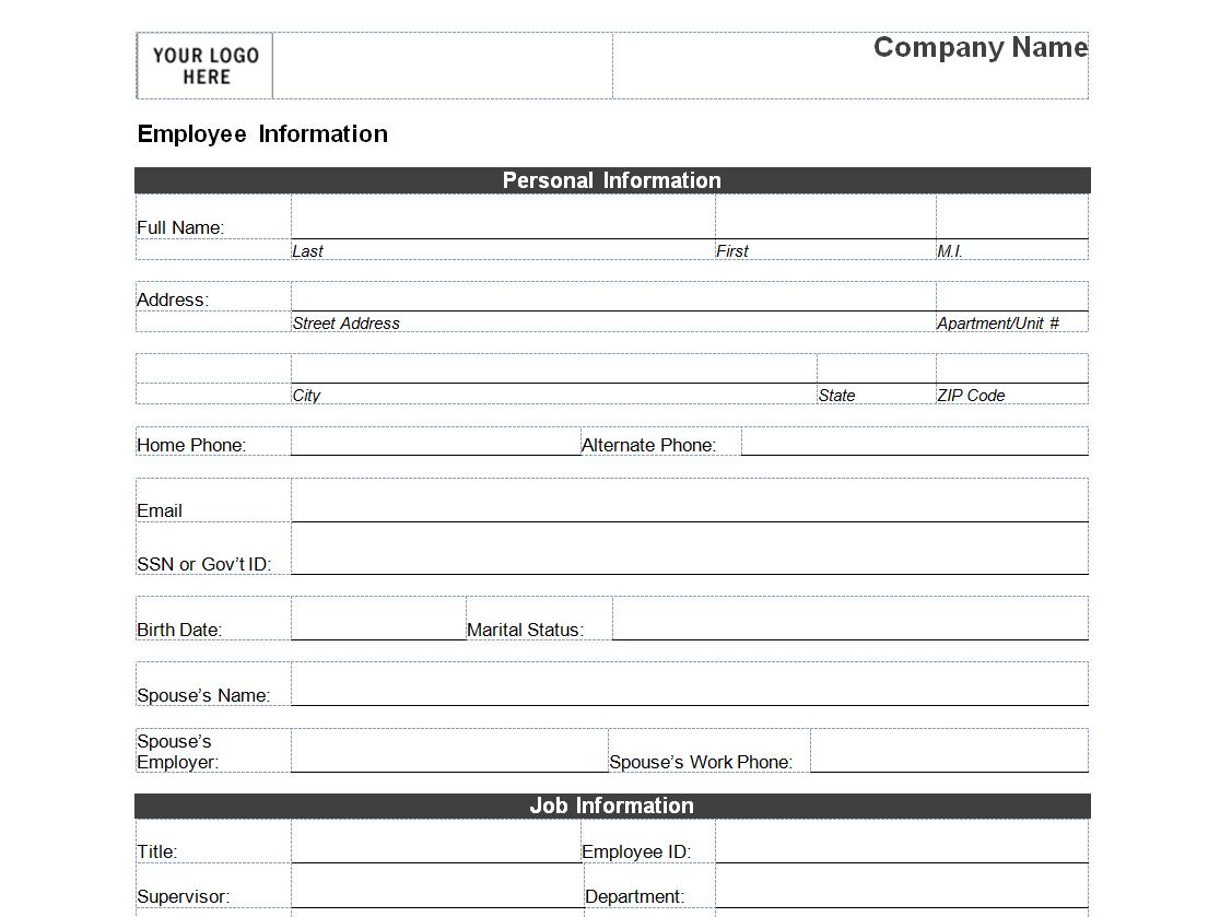 Search Results For Employee Data Calendar Forms