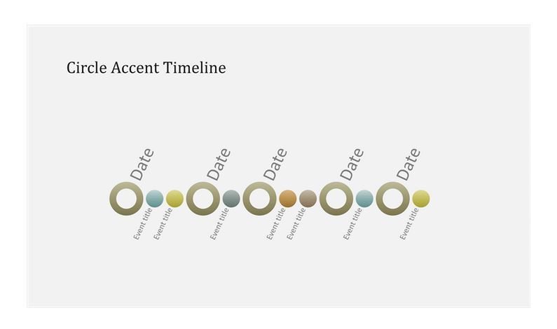 Powerpoint Timeline Template  Timeline Template Powerpoint