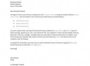 Free Sample Employee Termination Letter  Sample Employee Termination Letter