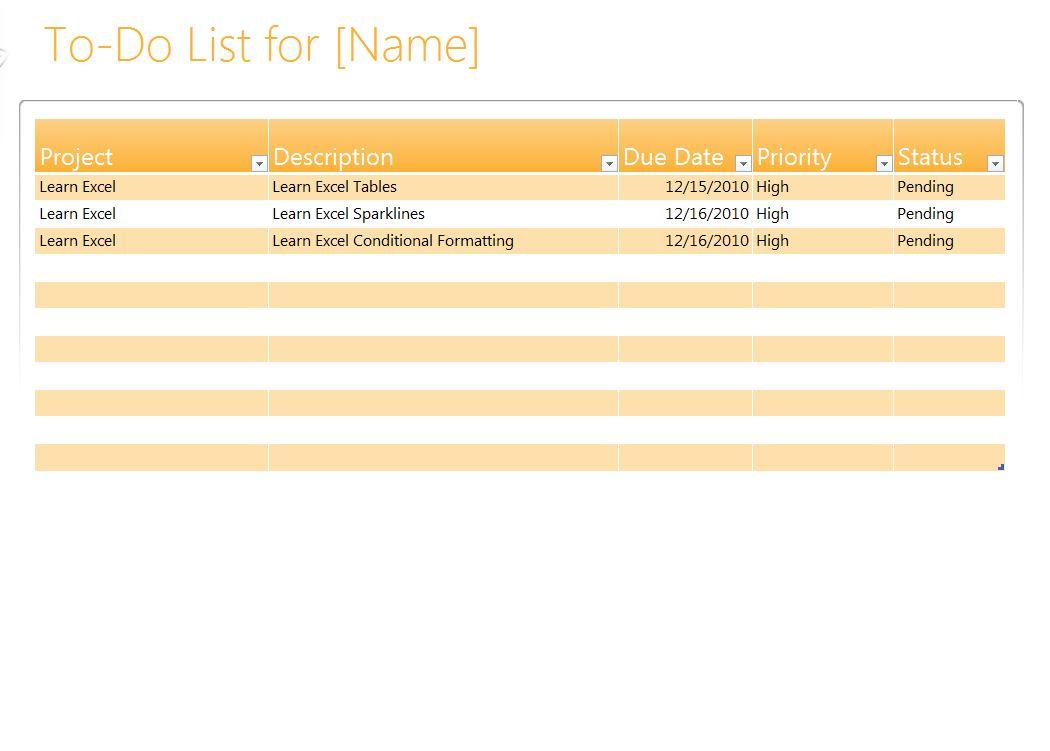 printable task list template .