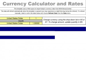 Currency Exchange Rate Calculator