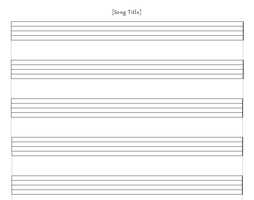 printable musical staff paper