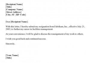 Resignation letter template resignation letter using the resignation letter template spiritdancerdesigns Choice Image