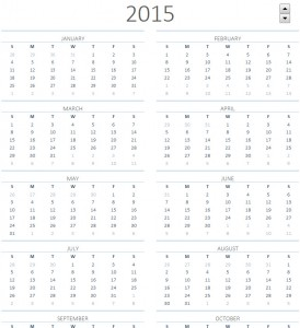 downloadable excel calendar 2015