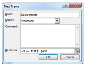 Using Dropdown Lists in Excel