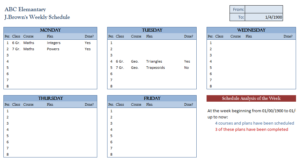 969 x 542 png 22kB, Excel Weekly Templates page 2 New Calendar ...