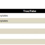 True/False Formula for Excel