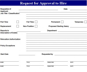 Approval-To-Hire-Request-Template