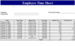 Basic-Employee-Time-Sheet-Template