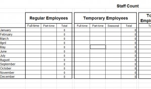 Basic-Staff-Count-Template