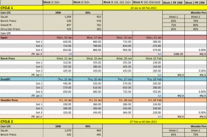 weight training excel spreadsheet oyle kalakaari co