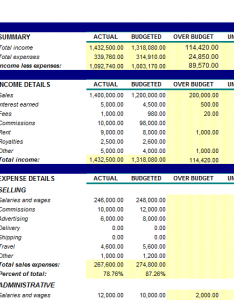 Business-Budget-Sheet