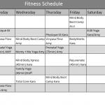 Fitness-Calendar-Template