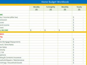 Home-Budget-Workbook