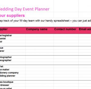 wedding day event planner1