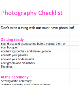 wedding photgraphy checklist1