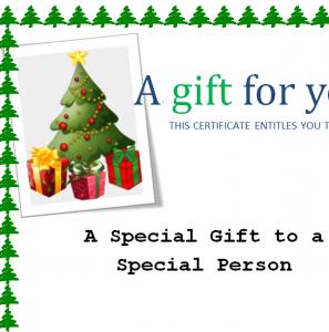 Christmas Gift Card Sheet Image