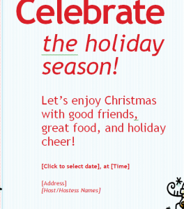 Holiday Event Invitation (1)