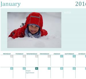 2016 Picture Calendar (1)